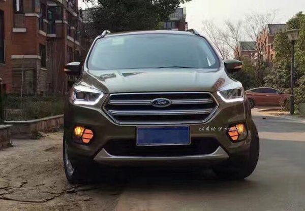 Дневные ходовые огни Ford
