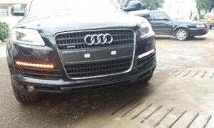дневные ходовые огни Audi Q7