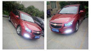 дневные ходовые огни Chevrolet Cruze 2009