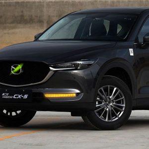 дневные ходовые огни новая Mazda CX5