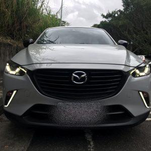 дневные ходовые огни Mazda CX3