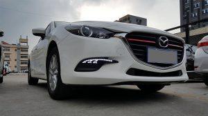 дневные ходовые огни Mazda 3