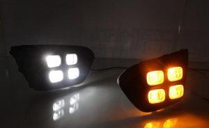 дневные ходовые огни Kia Rio X