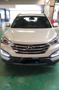 дневные ходовые огни Hyundai Santa Fe