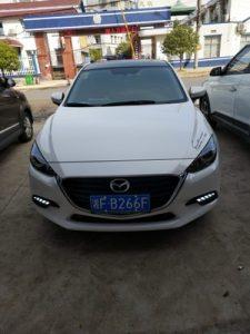 DRL новая Mazda 3