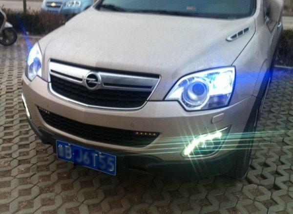 Дневные ходовые огни Opel Antara
