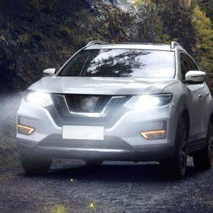 дневные ходовые огни Nissan X-Trail