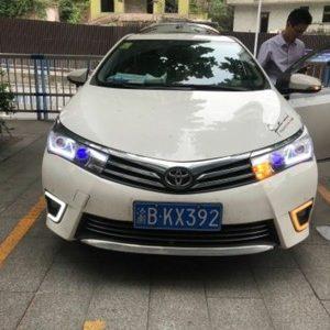дневные ходовые огни Toyota