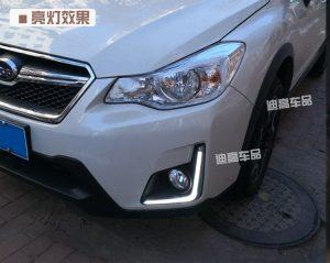 дневные ходовые огни Subaru XV