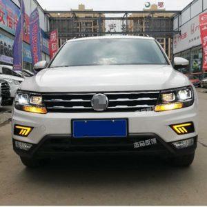 дневные ходовые огни новый Volkswagen Tiguan