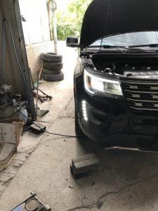 Дневные ходовые огни Ford Explorer
