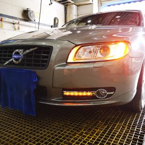 Дневные ходовые огни Volvo