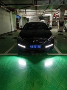дневные ходовые огни Hyundai